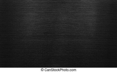 plano de fondo, pulido, aluminio, negro