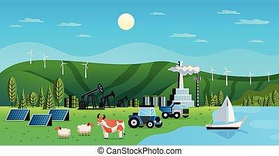 plano de fondo, recursos, natural, ambiental