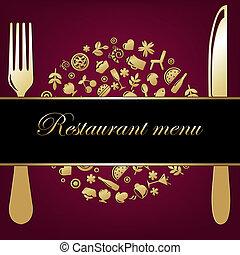 plano de fondo, restaurante