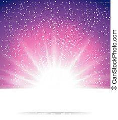 plano de fondo, resumen, magia, luz