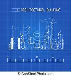 Plano del edificio arquitectónico