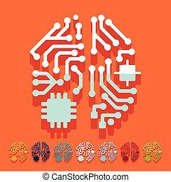 plano, design:, inteligencia artificial