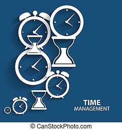 plano, dirección, tela, móvil, moderno, vector, tiempo, icono