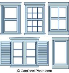 Planos de la ventana