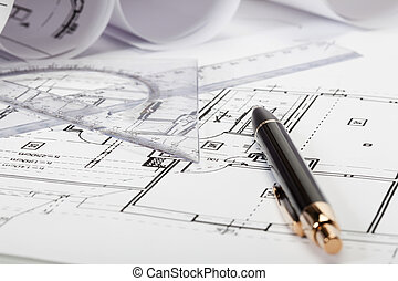 planos, foco selectivo, arquitectura