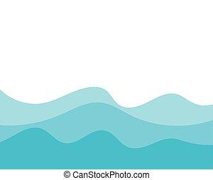Planta de fondo de onda