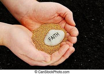 plantar las semillas, fe