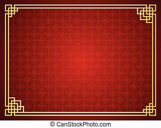 plantilla, chino