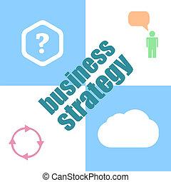 plantilla, interfaz, estrategia de la corporación mercantil, infographic, concepto, word., ui, tablero de instrumentos