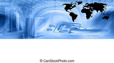 plantilla, web ofrecer