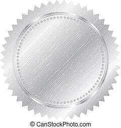 plata, sello