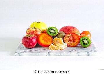 Plataforma de fruta