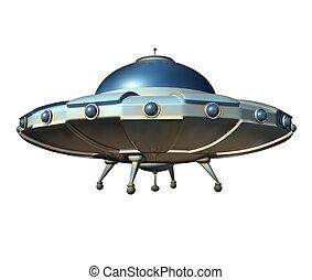 platillo, vuelo, nave espacial