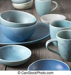 Plato de cerámica hecho a mano