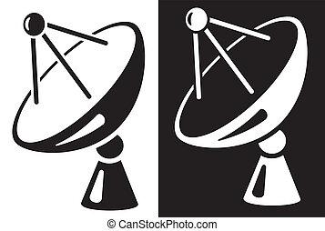 Plato de satélite