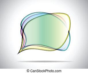 Platos de vidrio coloridos