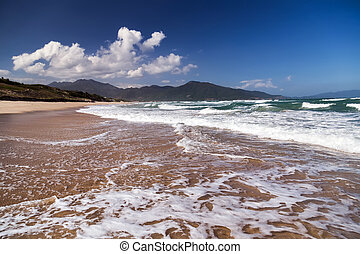 Playa de la isla tropical Paraíso