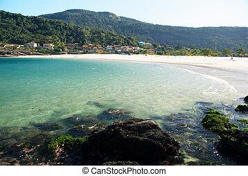 Playa en Rio de Janeiro, Brasil