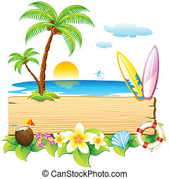 playa, mar
