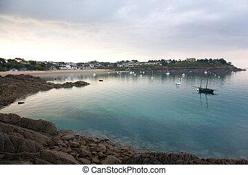 playa, port-mer, cancale