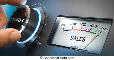 plomos, ventas, generar, más