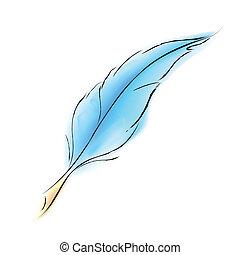 Pluma suave
