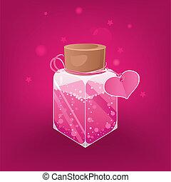 poción, amor