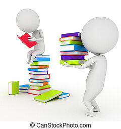 poco, lectura, libros, tipo