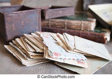 pocos, cartas, vendimia