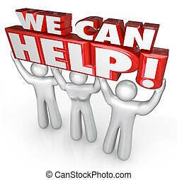 Podemos ayudar a los asistentes del servicio al cliente