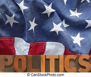política, norteamericano