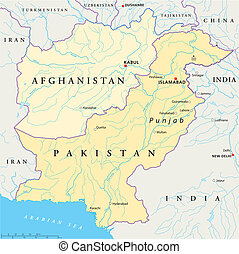 político, afganistán, paquistán