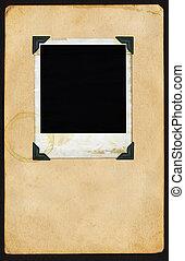 Polaroid en la página