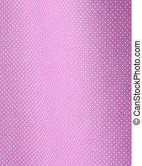 Polca blanca en rosa