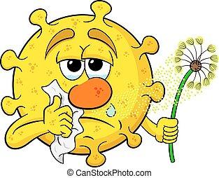 polen, fiebre del heno