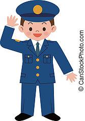 Policía de niños