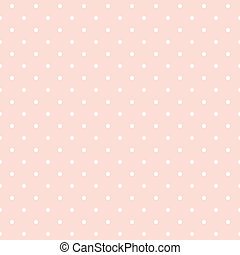 Polka marca el pasado del vector rosa