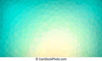 polygonal, vibrante, plano de fondo