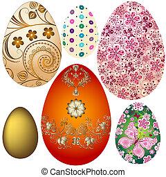 Pon huevos de Pascua