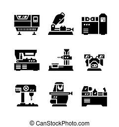 Pon iconos de herramientas
