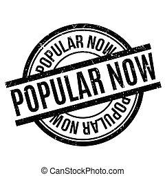 Popular ahora sello de goma