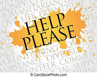 Por favor, ayuda a las nubes