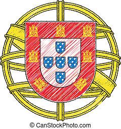 Portugal, escudo de armas