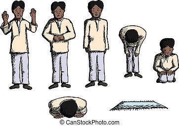 Posición de oración