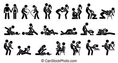 posiciones, sexual