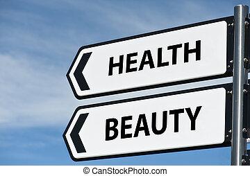 poste, salud, belleza, señal