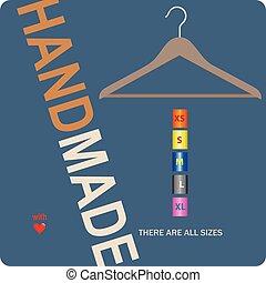 Poster para sastre hecho a mano