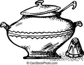 pote de la sopa