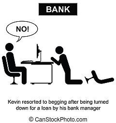 préstamo bancario