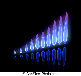 precios, levantamiento, gas
